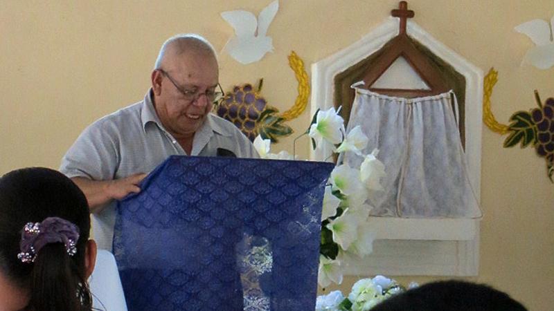 Arturo Mena hat die Gemeinde San Pablo vor 35 Jahren gegründet. © Bistum Speyer